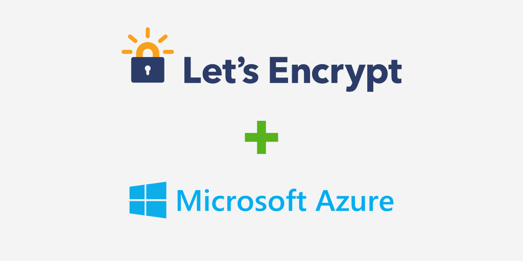 Let's Encrypt in Windows Azure